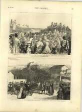 1875 Herzegovina Insurrection, Bringing Wounded Into Ragusa