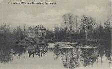 ✚809✚ German Field Postcard Feldpost WW1 GRENADE ATTACK CASTLE FRANCE ARTILLERY