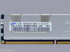 24GB 6 x4GB PC3 -8500R DDR3 1066MHz ECC Registered QUAD RANK Dell Poweredge T310