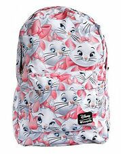 Disney The Aristocats Marie Face All Over Print Backpack by Loungefly NEW!