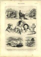 1875 Insurrection In Herzegovina, Sketches Agram, Mostar, Konjika, Peasants