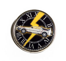 Back to the Future Clock Tower 25mm Pin Badge
