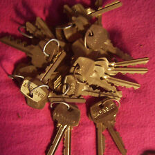 30 Pairs! Sargent factory per-cuts 6-pin Locksmith, needed for rekeying, LA-6
