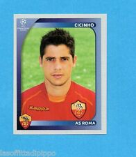 PANINI-CHAMPIONS 2008/2009-Fig.458- CICINHO - ROMA -NEW BLACK