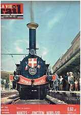 La Vie du Rail 761 Nantes : Jonction Nord 6 Sud (4/09/1960)