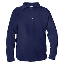 Mens Manbi Micro-Fleece Mid Layer Thermal Top  - Navy / XS