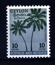 SRI LANKA - CEYLON - 1951-1954 - Palma di cocco