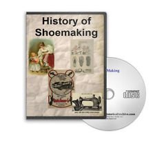 Shoe & Boot Making Design Repairing Repair History 34 Books & Catalogs CD - D217