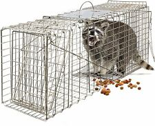 "OxGord Live Animal Trap 32"" X 12"" X 12"" Catch Release Humane Rodent Cage for..."