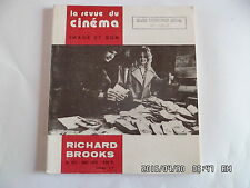 LA REVUE DU CINEMA IMAGE ET SON N°261 MAI 1972 RICHARD BROOKS     J66