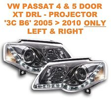 VW Passat Saloon & Estate DRL XT-C Chrome Projector Headlights B6 05  10 ONLY