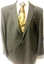Big Men Suit New Henry Grethel Business Slack 2 PC Piece 54R Jacket Button Taupe
