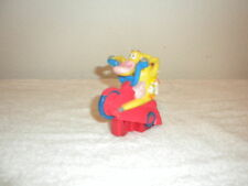 CARTOON NETW0RK COW AND CHICKEN RIDING MOTORCYCLE POPPING A WHEELIE