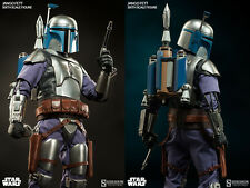 "Sideshow Star Wars AOTC Jango Fett 1/6 Scale 12"" Figure MISB In Stock"