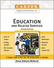 Career Opportunities in Education And Related Services (Career Opportu-ExLibrary