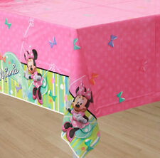 Disney MINNIE MOUSE Boutique~(1) Plastic Tablecover ~ Birthday Party Supplies