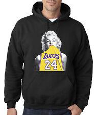 New Way 412 - Hoodie Marilyn Monroe Lakers 24 Kobe Bryant Gold Jersey