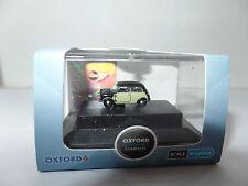 Oxford NMN004 MN004 N Gauge 1/148 Austin Morris Mini Peter Sellers Wicker Black