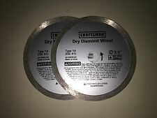 5 NEW Craftsman 1A Diamond Wheels Dremel SawMax RotoZip SpiralSaw FREE SHIPPING