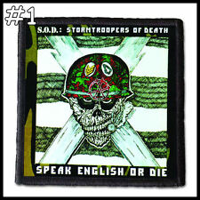 S.O.D. Stormtroopers Of Death  --- Patch / Aufnäher --- Various Designs