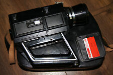 Revue S8 Deluxe super8 film camera 8mm vintage + bag+ cardridge