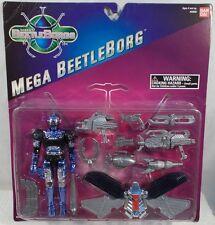Beetleborgs Saban - Mega Purple Beetleborg With Mega Power Wings By Bandai (MOC)