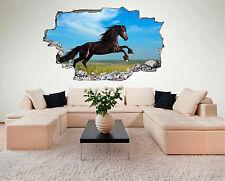 Pferd Hengst Horse Stute Tier Wildlife Wandtattoo XXL Wandsticker Aufkleber C472