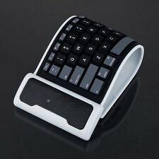 Black Mini Soft Silicone Foldable Portable Flexiable Bluetooth Keyboard F5