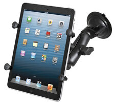 """RAM-B-166-UN8U XGRIP UNIVERSAL SUCTION CUP CAR SUV MOUNT HOLDER FOR 7"""" TABLETS"""