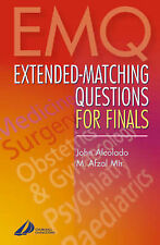 Extended-Matching Questions for Finals,GOOD Book