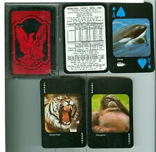 """Endangered Species"" Non-Standard Playing Cards, by Safari, Australia"