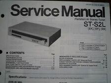 TECHNICS ST-S2L Stereo Tuner Service manual wiring parts diagram