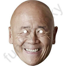 Ken Hom Celebrity Chef Card Mask WOK - All Our Masks Are Pre-Cut!