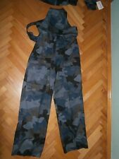 Federal Yugoslav Police helicopter units pilot working pants (blue pattern)