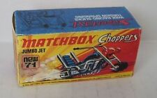 Repro Box Matchbox Superfast Nr.71 Jumbo Jet Choppers
