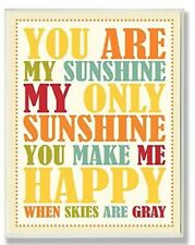 The Kids Room by Stupell You are my Sunshine Wall Plaque Picture