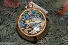 *Inside Art - Trout Ball* Fish - Old World Christmas Glass Ornament - NEW