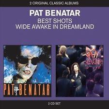 PAT BENATAR Best Shots/Wide Awake In America 2CD BRAND NEW