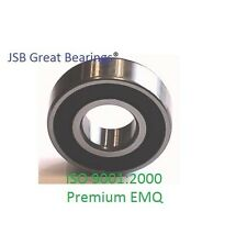 (Qty.2) 6004-2RS Premium 6004 2rs seal bearing 6004 ball bearings 6004 RS ABEC3