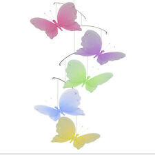 Butterfly Mobile Nursery Ceiling Hanging Jewel Butterflies Room Girls Home Decor
