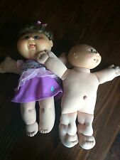 Cabbage Patch Kids Dolls 1982 bald baby and Sprinkle face Anniversary doll