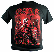 Kreator Double Extra Large 2Xl New! T-Shirt (Pleasure To Kill) 445
