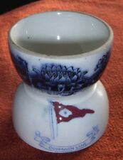 Circa 1880s-1890s Dominion Line Steamship China Double Egg Cup