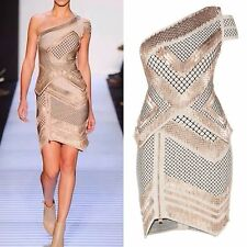 Bandage One Shoulder Bodycon Rayon Wedding Party Mini Evening Cocktail Dress 2PC
