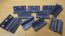 "5 PAIRS 2 1/2"" 63mm SHERADIZED STORMPROOF HINGES WINDOW CRANKED HINGE"