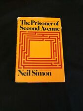 Vincent Gardenia The Prisoner of Second Avenue Signed Autograph Hardback Book