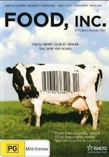 Food, Inc. DVD NEW DOCUMENTARY Animal Rights Health Vegan Vegetarian Region 4
