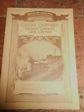 GREAT CENTRAL RAILWAY COMPANY (1976) INVITATION TO SUBSCRIBE