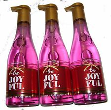 Bath & Body Works Be Joyful Hand Soap Lot 3 NEW Olive Oil & Grapeseed Extract