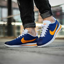NIKE CORTEZ ULTRA Running Trainers Shoes Gym Casual UK 9.5 (EUR 44.5) Royal Blue
